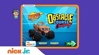 Download Blaze and the Monster Machines: 'Obstacle Course Challenge' Game Walkthrough | Nick Jr. Games (AD) Video