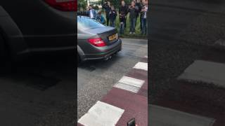 Download C63 AMG Gang Burnout Acceleration Cars And Coffee AMG Gang Video