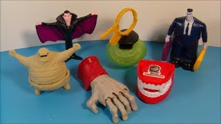 Download 2012 HOTEL TRANSYLVANIA SET OF 6 McDONALD'S HAPPY MEAL MOVIE TOY'S VIDEO REVIEW Video