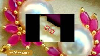 Download Color Changeable gem Stone Rainbow color Earrings/studs/ Kaadholai/Sattai Potthaan Video