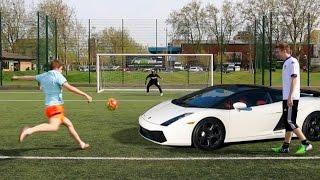 Download LAMBORGHINI FOOTBALL CHALLENGE Video