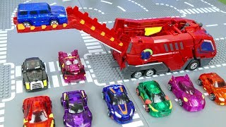 Download Mecard Cars Toys for Children   Transforming Mecardimals for kids Video