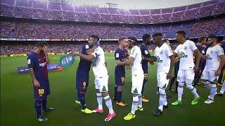 Download Le Barça reçoit le club brésilien de Chapecoense Video