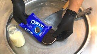 Download GIANT Oreo Sandwich - Ice Cream Rolls | how to make an Oreo Ice Cream Sandwich to Ice Cream Rolls Video