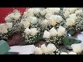Download Como Hacer Arreglos De Flores Para Pastel de bodas o 15 años, sencillos. Video