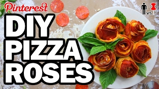 Download DIY PIZZA ROSES - Man Vs Valentines Day #108 Video