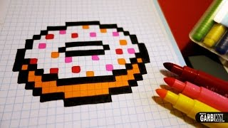 Pixel Art Comment Dessiner Une Glace Chocolat Fraise Free