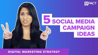 Download 5 Social Media Campaign Examples From Big Brands You Want to Be In 2018 Video