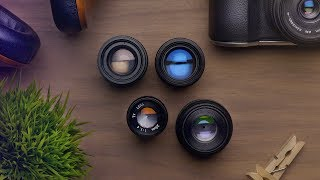 Download 4 Camera Lenses Under $32 for Sony and Panasonic Video