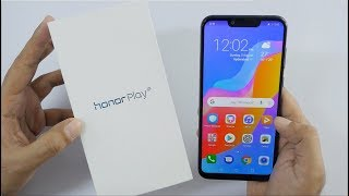 Download Honor Play Smartphone with GPU Turbo Unboxing & Overview Video