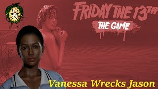 Download Vanessa Decides She Doesn't Like Jason, So She Deletes Him With Tommy - Friday The 13th: The Game Video
