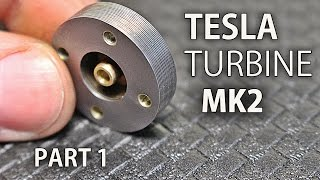Download Micro Tesla Turbine Mk2 | Part 1 | The Rotor Video