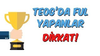 Download TEOG'da Ful Yapanlar Dikkat! Video