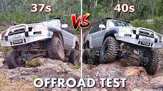Download The Ultimate Offroad Test: 37s vs 40s Video