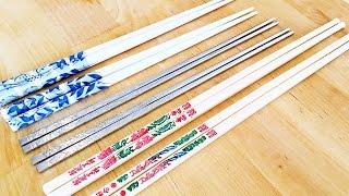 Download 3 Types of Chopsticks: Chinese VS Korean VS Japanese, Dos & Don'ts Video