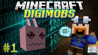 Download Minecraft: DIGIMOBS EP. 1 - Koromon Tamed! Video