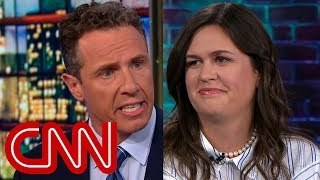 Download Watch Chris Cuomo's full interview with Sarah Sanders Video