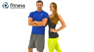 Download Day 1: Fitness Blender's 5 Day Workout Challenge to Burn Fat & Build Lean Muscle Video