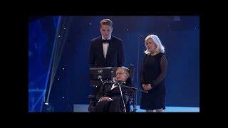 Download Sir Stephen Hawking's last speech on stage | 2018 | Video