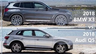 Download 2018 BMW X3 vs 2018 Audi Q5 (technical comparison) Video