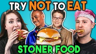 Download Stoners Try Not To Eat Challenge - Stoner Movie Food | People Vs. Food Video