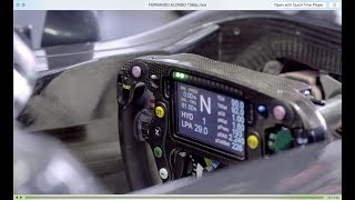 Download How an F1 Steering Wheel works, with Fernando Alonso Video