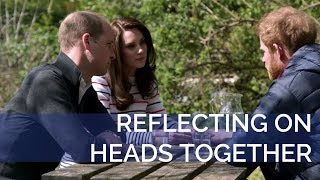 Download The Duke and Duchess of Cambridge and Prince Harry reflect on the Heads Together Campaign Video