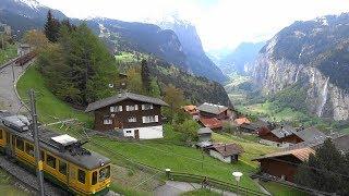 Download Wengen en primavera - Switzerland Video