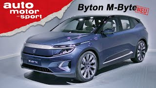 Download Byton M-Byte: Was kann das Elektro-SUV aus China? - (Review) IAA 2019 I auto motor und sport Video