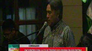 Download Argentina, Evo Morales se reune con los bolivianos en Argentina en el Consulado Video