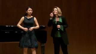 Download Renée Fleming Master Class, February 13, 2014: Pureum Jo and Daniel Fung Video