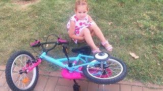 Download Какой велосипед купить Учимся Кататься на Новом велосипеде Видео для Детей ВЛОГ Video