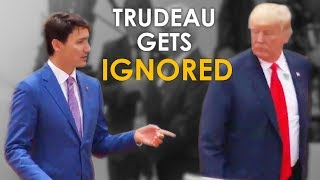 Download Justin Trudeau Gets IGNORED By Trump at The G20 Summit (What He SHOULD Have Done) Video