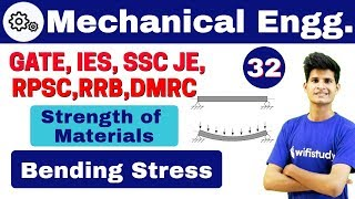 Download 1:40 PM - Mechanical by Neeraj Sir |Day #32 | Strength of Materials | Bending Stress Video