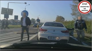 Download Białe BMW blokuje i zajeżdża drogę #56 Wasze Filmy Video