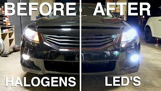 Download LED Headlights: Are they Better than Halogens? Video