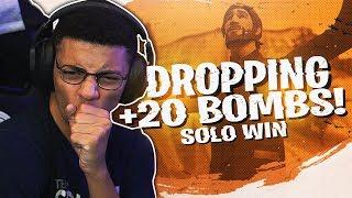 Download DROPPING A 22 BOMB! AGGRESSIVE SOLO WIN (Fortnite BR Full Match) Video
