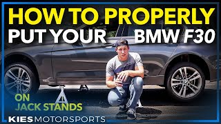 Download How to properly put an F30 | F3x BMW on Jack Stands (Sorry for the wind noise) Video