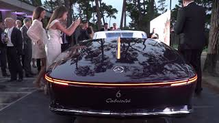 Download 2017 Vision Mercedes-Maybach 6 Cabriolet World Debut at Pebble Beach Concours d'Elegance Video