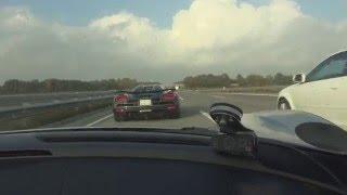Download [50fps] Top speed Porsche 918 Spyder German Autobahn 218 mph / 350 km/h Video