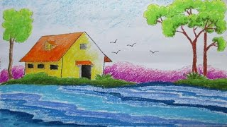 Download Pastel Drawing | How to Draw a Scenery | Episode-7 Video