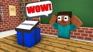 Download Monster School : FREE GIFT FROM SAMSUNG - Minecraft Animation Video
