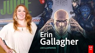 Download Live Illustration with Erin Gallagher - Day2 AdobeLive Video