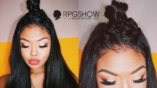 Download MOST NATURAL LOOKING WIG- UNBOXING & STYLING [RPGSHOW] Video