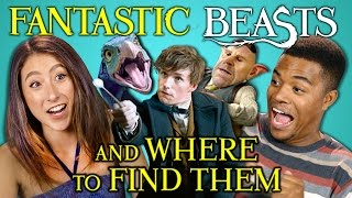 Download College Kids React to Fantastic Beasts Trailer (Harry Potter Wizarding World) Video