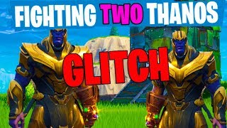 Download FIGHTING TWO THANOS GLITCH! *NEW FORTNITE MARVEL UPDATE!* Video