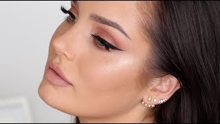 Download Updated Neutral Glam Makeup Tutorial \ Chloe Morello Video