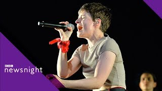 Download Christine and the Queens on gender and sexuality - BBC Newsnight Video