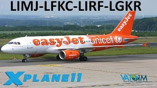 Download X-Plane 11 | FlyTampa Corfu and New Rome!! | Back to Europe | A319 A320 | VATSIM | X-Enviro 1.09 Video