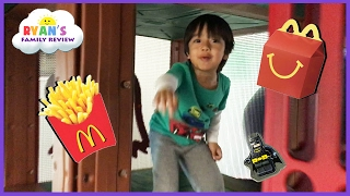 Download McDonald's Indoor Playground for Kids Happy Meal Lego Batman Surprise Toy Hunt Valentine Day Video